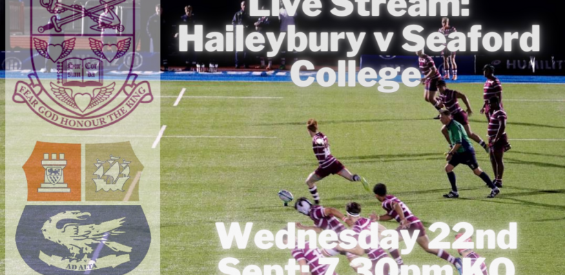 YouTube - Live Stream Haileybury v Seaford College