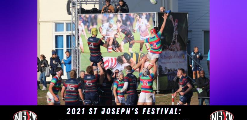 Website St Jo's Day 1 Cover